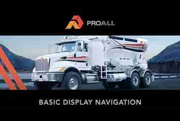 ProAll Technical Support Display Navigation for Commander Thumbnail